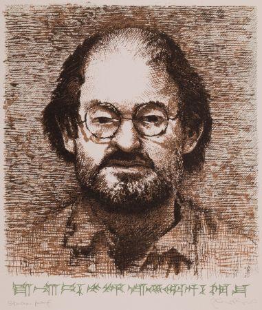 リトグラフ Phillips - Salman Rushdie (from Ludlul Bel Nemequi: The Righteous Sufferer, c. 3500 B.C.)