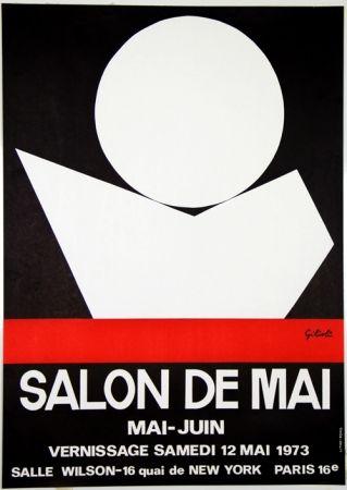 リトグラフ Gilioli - Salon de Mai