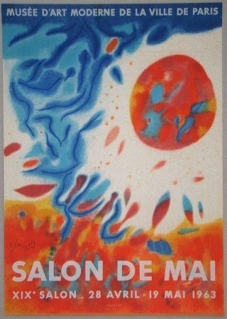 リトグラフ Singier - Salon De Mai