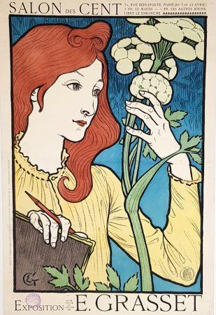 リトグラフ Grasset - Salon Des Cents