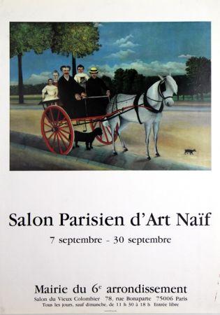 オフセット Rousseau - Salon Parisien D'Art Naîf