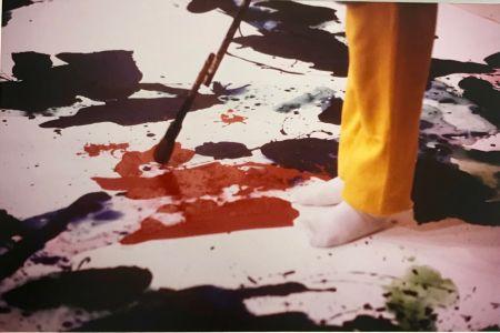 写真 Blum - Sam Francis painting