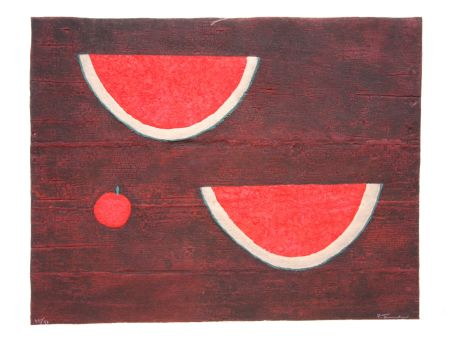 Relief Tamayo - Sandias con Manzana (Watermelons with Apple)