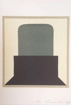リノリウム彫版 Spescha - Sans titre