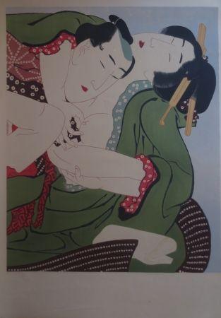 リトグラフ Utamaro - Sans titre