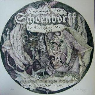 リトグラフ Schoendorff - Sans titre