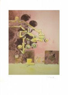 リトグラフ Sutherland - Sans titre