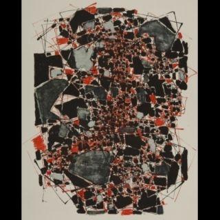 リトグラフ Dumitresco - Sans titre