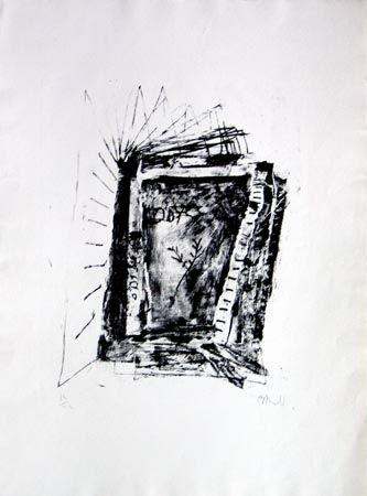 リトグラフ Barcelo - Sans Titre