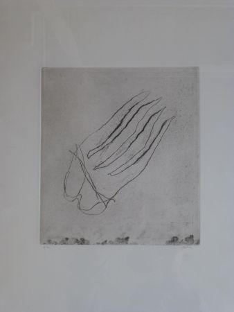 彫版 Fautrier - Sans titre