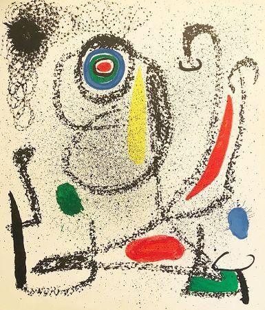 リトグラフ Miró (After) - Sans titre