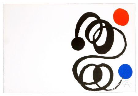 リトグラフ Calder - Sans titre