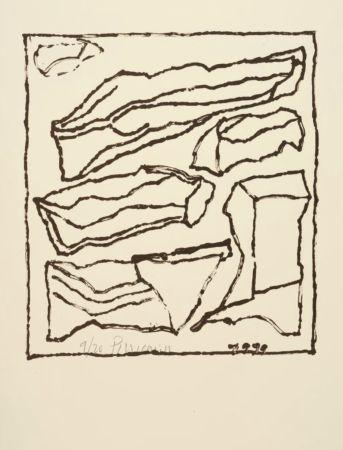 リトグラフ Pincemin - Sans titre - Untitled