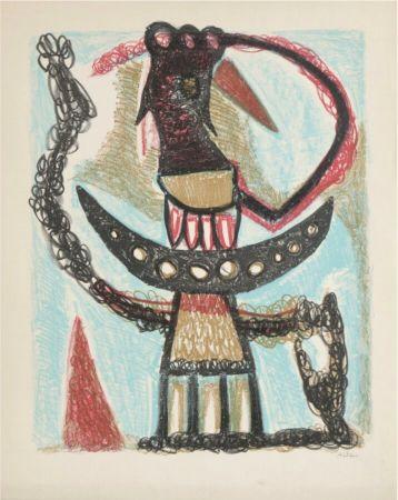 リトグラフ Atlan - Sans titre, 1953