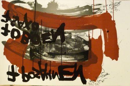 リトグラフ Vostell - Sans titre 4