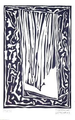 リノリウム彫版 Gérédakis - Sans titre 6