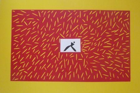 リノリウム彫版 Kuroda - Sans Titre 9300