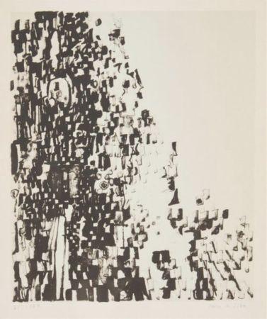 リトグラフ Vieira Da Silva - Sans titre / Untitled