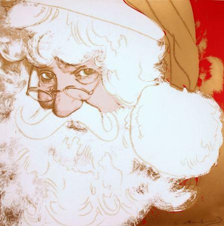 シルクスクリーン Warhol - Santa Claus (FS II.266)