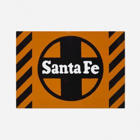 シルクスクリーン Cottingham - Santa Fe Railway