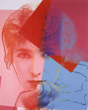 シルクスクリーン Warhol - Sarah Bernhardt (FS II.234) Trial Proof