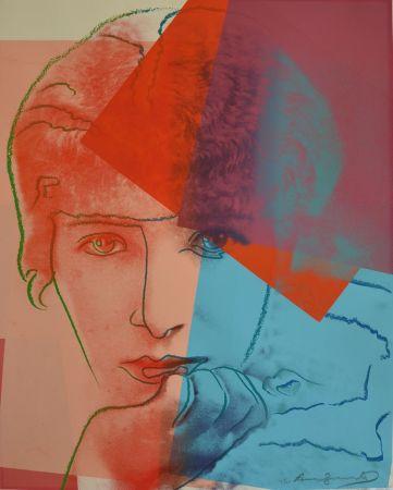 シルクスクリーン Warhol - Sarah Bernhardt TP
