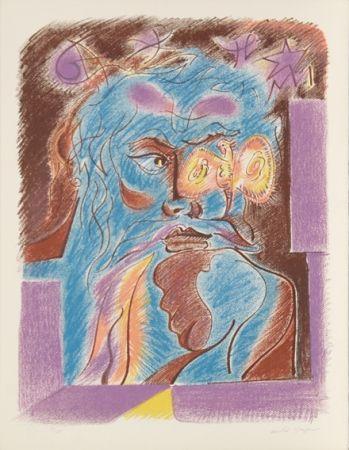 リトグラフ Masson - Satan from Je Reve Portfolio