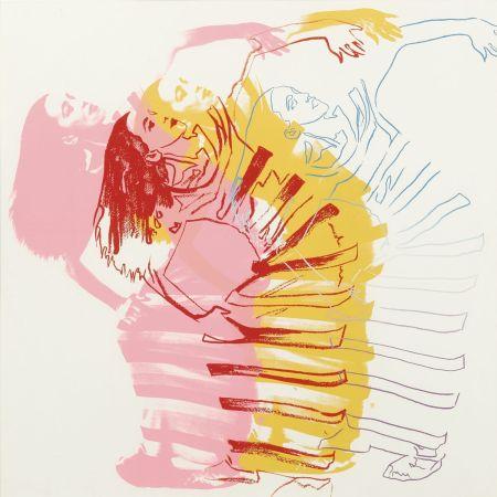シルクスクリーン Warhol - Satyric Festival Song (Unique)