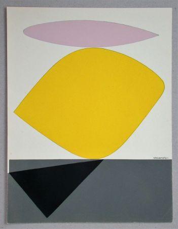 ステンシル Vasarely - Sauzon - 1952