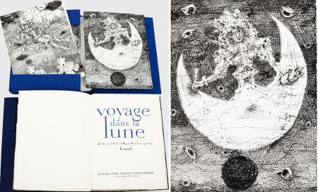 挿絵入り本 Coutaud - Savinien CYRANO DE BERGERAC : VOYAGE DANS LA LUNE. Eaux-fortes originales de Coutaud.
