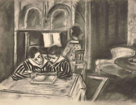 Collograph Matisse - SCENE D'INTERIEUR, 1933