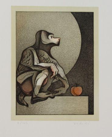 リトグラフ Bodini - Scimmietta