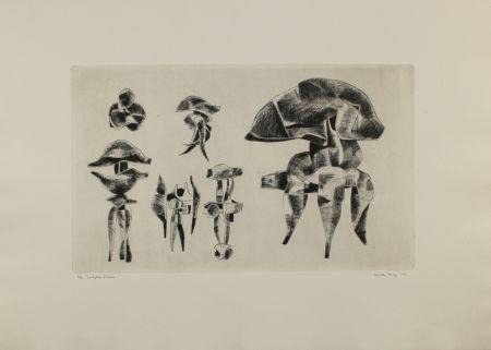 彫版 Hadzi - Sculpture Studies