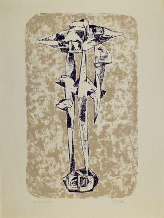 リトグラフ Hadzi - Sculpture Study