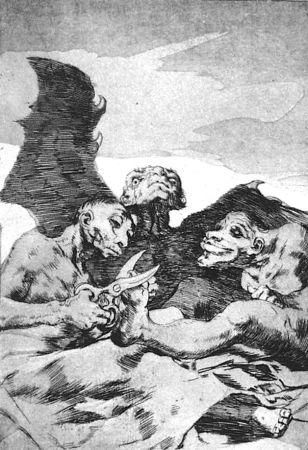 エッチングと アクチアント Goya - Se repulen