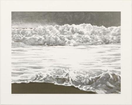 リトグラフ Gornick - Sea edge