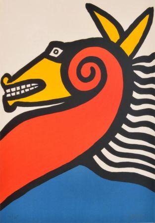 リトグラフ Calder - Sea Horse