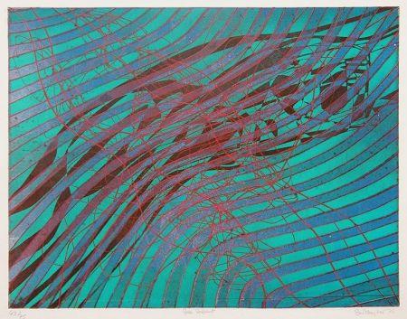 彫版 Hayter - Sea Serpent