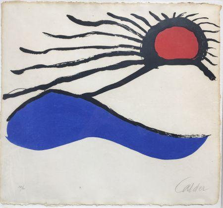 リトグラフ Calder - Seascape