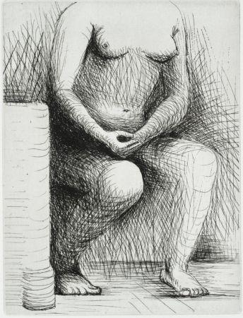 彫版 Moore - Seated Figure