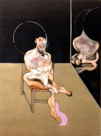 彫版 Bacon - Seated Figure