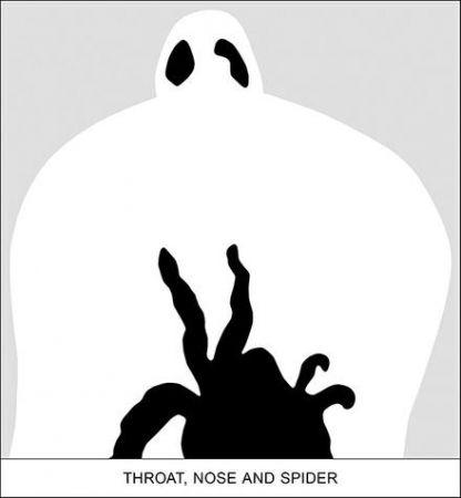 デジタル版画 Baldessari - SEDIMENT: THROAT, NOSE AND SPIDER