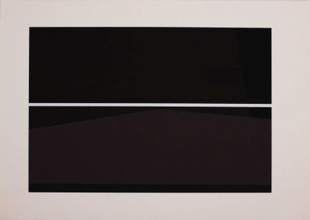 シルクスクリーン Badiali - Sei fasi progressive di verticalità elastica