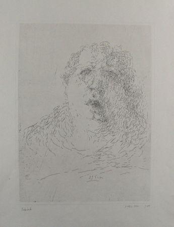 彫版 Janssen - Selbst am 29.3.1965