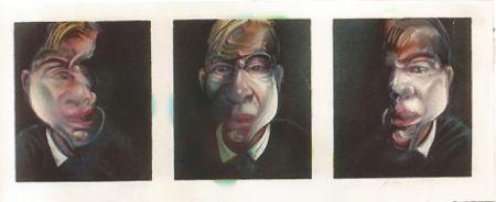 リトグラフ Bacon - Self-portrait