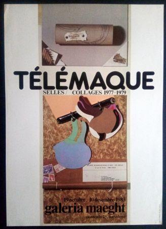 掲示 Telemaque - SELLES / COLLAGES 1977 1979 - MAEGHT 1983