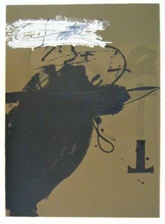 リトグラフ Tàpies - Senanque 2