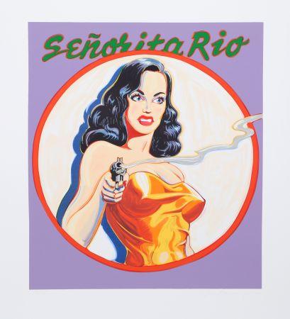 リトグラフ Ramos - Senorita Rio