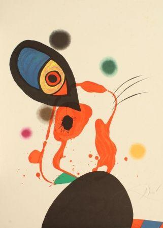 リトグラフ Miró - Senza titolo