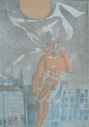 彫版 Saetti - Senza titolo